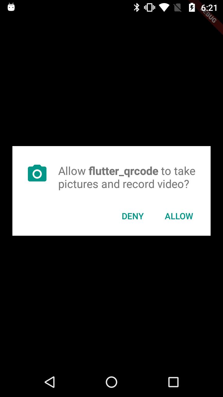 Flutter QR Code Scanner