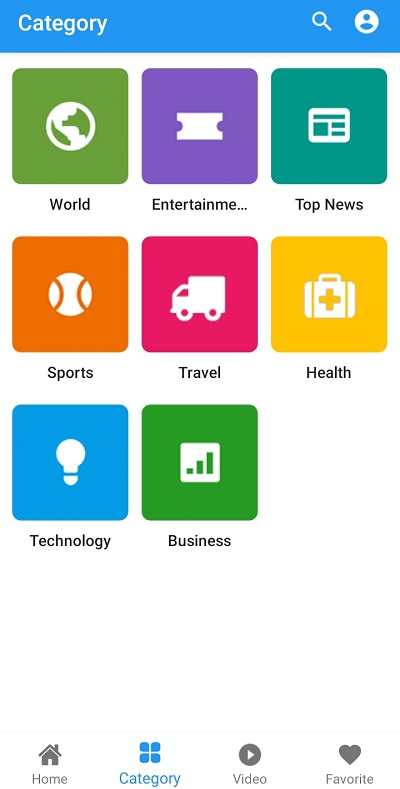 Android News Application Source code