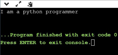 Python Program to Convert List to String